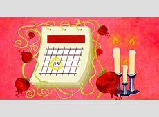 The Rosh Hashanah 2018 Calendar Rosh Hashanah 5779
