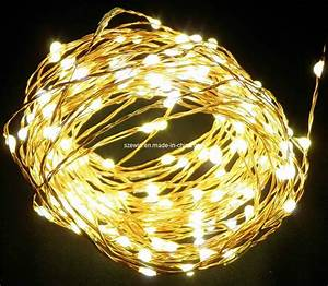 China Yellow Led Copper Wire Nest Lights  Led Christmas