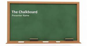How to Create a Simple PowerPoint Blackboard Presentation ...