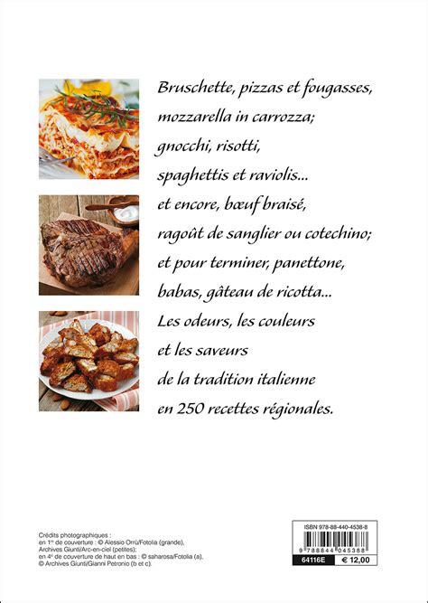 cuisine en italie la cuisine en italie giunti editore