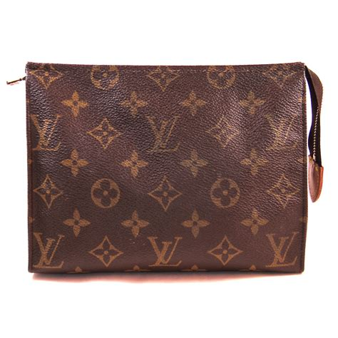 louis vuitton monogram toiletry pouch  cosmetic bag ebay