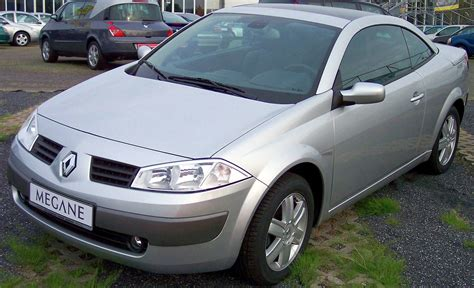 renault silver file renault megane cabrio silver vl 2005 jpg wikimedia