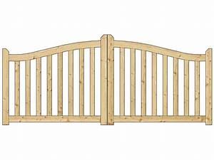 Portail Bois 4m : bien choisir un portail bois pas cher battants conseils ~ Premium-room.com Idées de Décoration