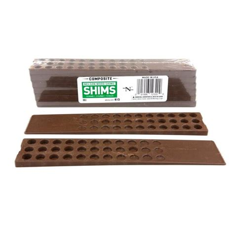 nelson wood shims  count        composite