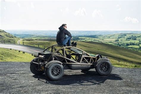 off road sports car ariel slaps a supercharger onto the nomad off road sports car