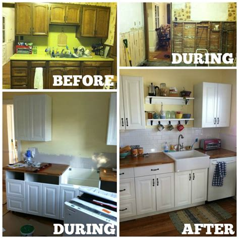 how to make stock cabinets look custom diy kitchen cabinets ikea vs home depot house and hammer