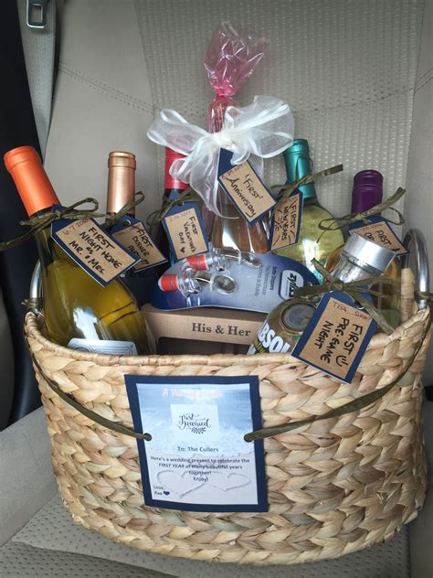 20 Best Couples Gift Basket Ideas in 2020 Wedding gifts