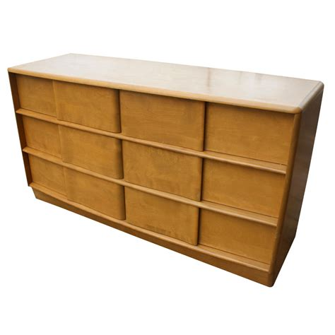 Heywood Wakefield Dresser Value by Midcentury Retro Style Modern Architectural Vintage