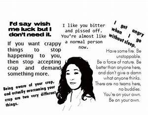 Cristina Yang q... Cristina Yang Cookie Quotes