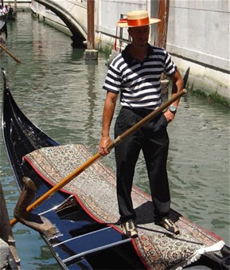 Gondola Boat Man by Chic Chasseur Gondolier Outfit