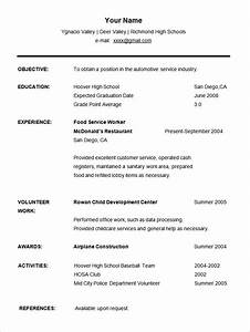 36 student resume templates pdf doc free premium With high school student resume template