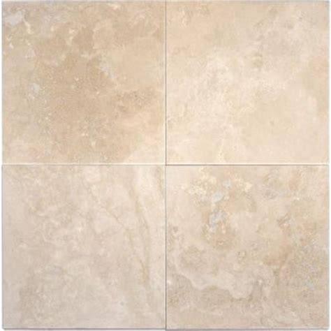 6x6 tuscany ivory honed square pattern travertine mosaic tile