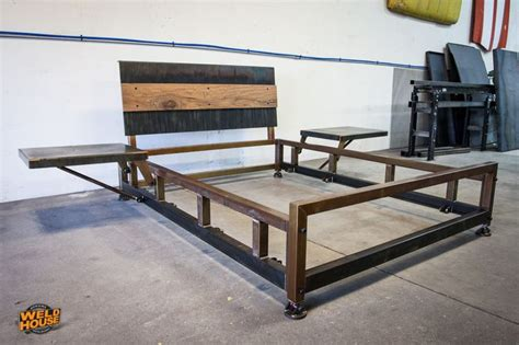 Steel Bed Frame by The Weld House Lowboy Bed Frame Is An Industrial Design