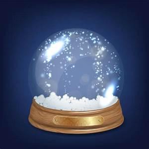 Boule à Neige : brillant cristal boule de neige t l charger des vecteurs gratuitement ~ Teatrodelosmanantiales.com Idées de Décoration