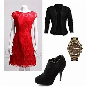 Red Lace Casual Dress & Review – Fashion Gossip