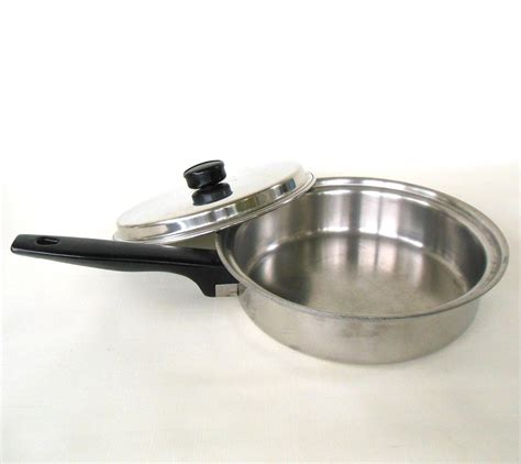 ekco prudential ware cookware stainless waterless
