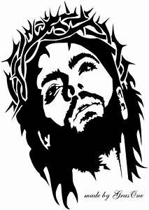 Jesus wearing a crown of thorns by GrasOne on DeviantArt