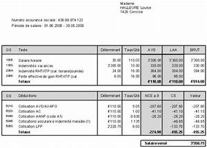 Exemple Bulletin De Paie Avec Indemnité De Licenciement : modele fiche de paie avec chomage partiel document online ~ Maxctalentgroup.com Avis de Voitures