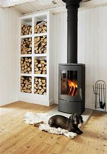 13 wood stove decor ideas for your home stove small for Kitchen colors with white cabinets with candle holder fireplace