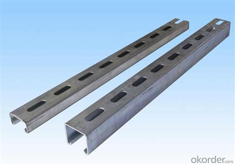 buy galvanized steel channel price size weight width