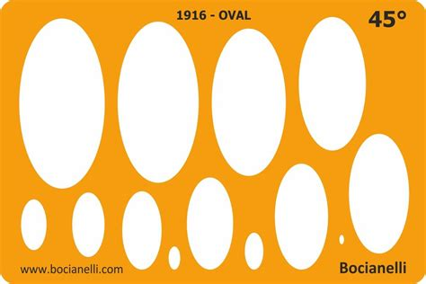 ellipse template 45 degrees ellipse ellipses shapes drawing technical drafting template stencil ebay