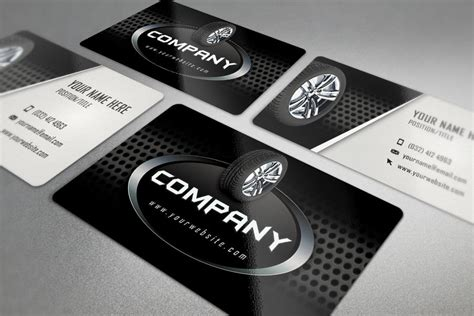 auto repair business card template tires business card