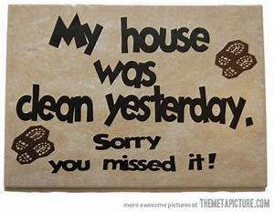House Cleaning ... Funny Household Quotes