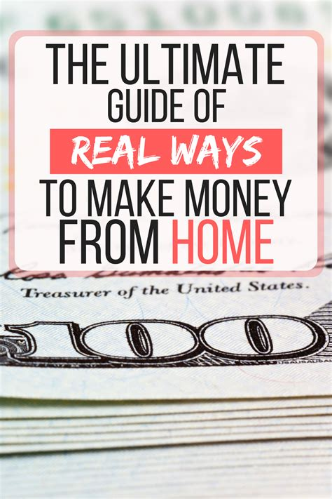 real ways   money  home  ultimate guide