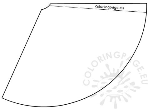 diy  year paper hat template coloring page