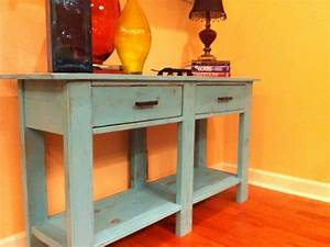 Ana White Benchwright Console Table - DIY Projects