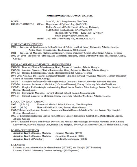 Food Microbiologist Resume Sle by Microbiologist Resume Template 5 Free Word Pdf