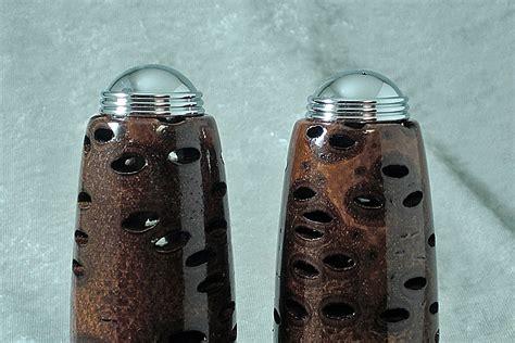 Banksia Pod Salt and Pepper Shaker Set   Ted's Woodshop