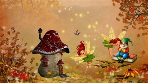 Whimsical Animal Wallpaper - fall other abstract background wallpapers on