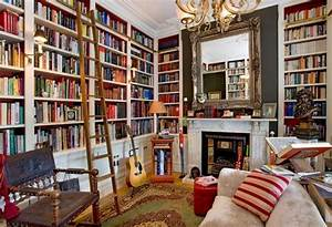 Cozy home library | I want a library . . . | Pinterest