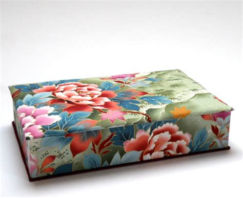 fabric covered boxes fabric covered box by minouc traditional decorative 3650