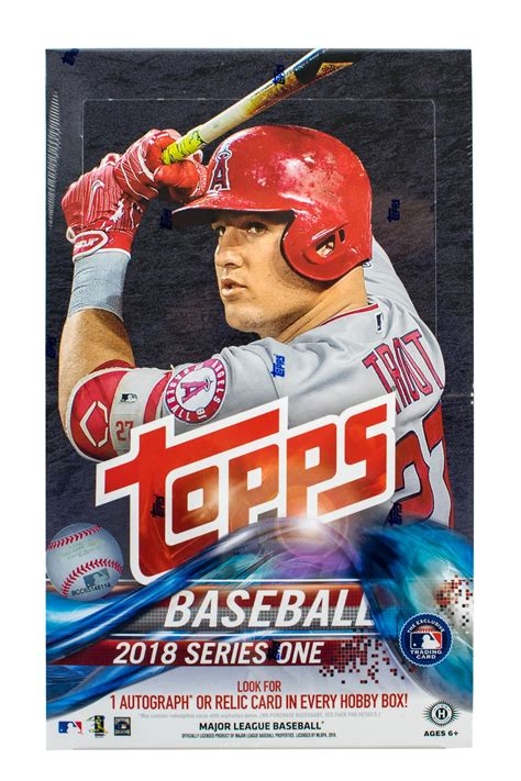 baseball box topps hobby series pack cards card plus sports silver boxes games