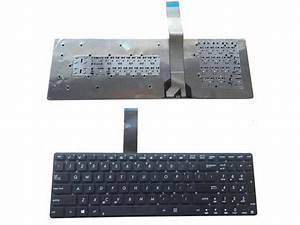 New Laptop Keyboard  Without Frame  For Asus X751 X751l