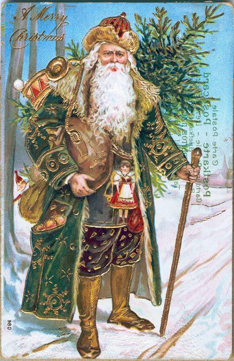 santa claus  visual history  saint nick