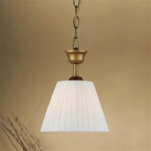 Antique country little fabric shade pendant lighting