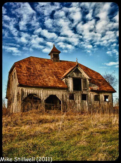 Walking On Empty Dutch Colonial Hip Roof Barn