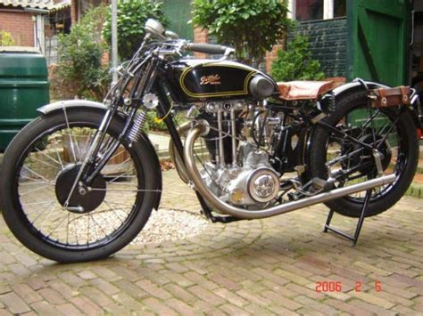 1929 Gillet 500 Competition Classic Motorcycle Pictures