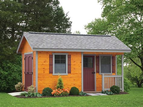 cottage plans cottage style storage shed pricing options list