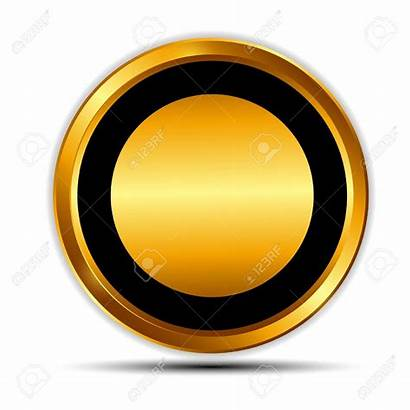 Circle Golden Clipart Gold Symbol Clipground