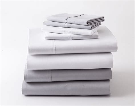 ghostbed luxury fitted sheet set sleep in cool comfort