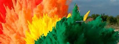 Explosion Rainbow Slow 4k Mo Airbag Guys