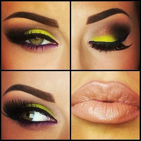 fabulous neon eye makeup ideas  women eye makeup