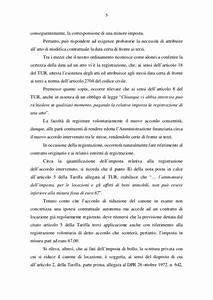 Riduzione del Canone di Locazione: Risoluzione 60/E Agenzia delle Ent
