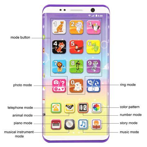giocattolo educativo smartphone giocattolo telefono giochi