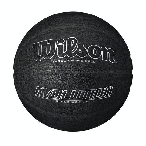 wilson evolution black edition basketball sweatbandcom