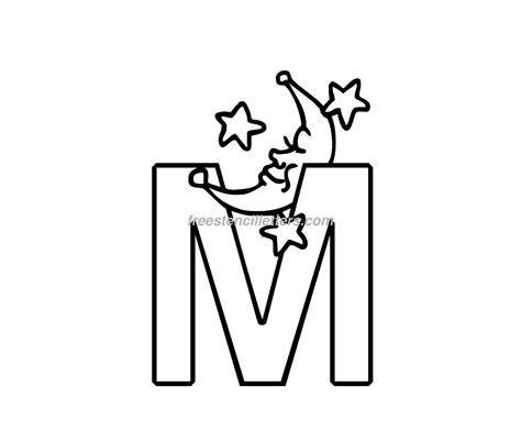print baby  letter stencil  stencil letters